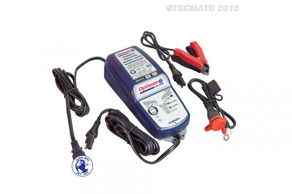OPTIMATE OPTIMATE 6 (TM194) 12V/24V, 5A/2,5A, 8-stufiges Ladegerät