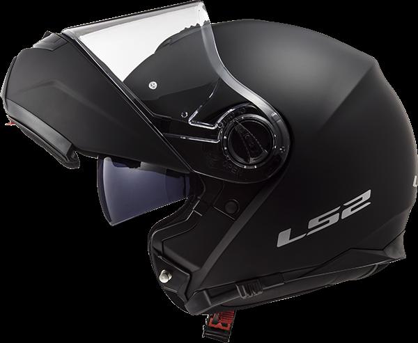 LS2 FF325 STROBE MATT BLACK