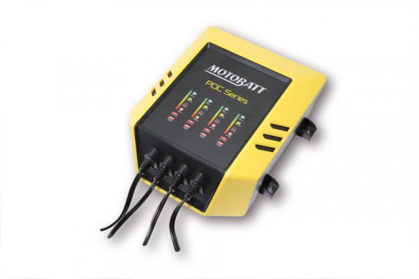 MOTOBATT Batterieladegerät PDC Serie für 4 Batterien