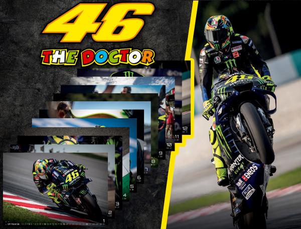 IL DOTTORE | 46 - Valentino Rossi - 2020 - Kalender - DIN A3