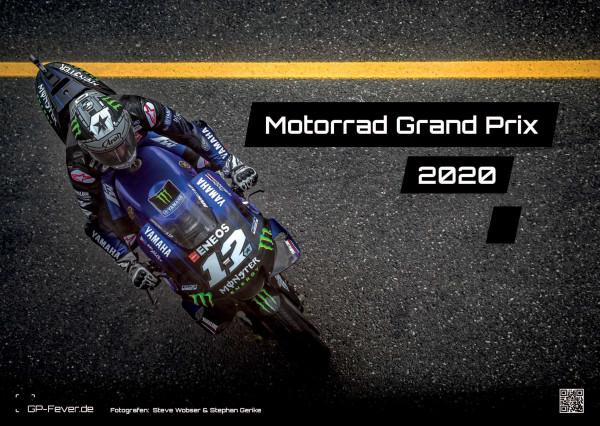 Motorrad Grand Prix 2020 - Kalender - DIN A3