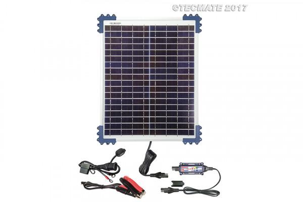 OPTIMATE Solar-Panel-Ladegerät 20 W TM522-2